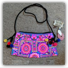 ❤️ COLORFUL GYPSY BOHO PURSE ❤️ ❤️ COLORFUL GYPSY BOHO PURSE ❤️ Perfect condition, never used! All items come from a pet- and smoke free home. Items may have smell from laundry detergent, please let me know if you don't want me to wash/dry the item before shipping. Accessories in the photo are not included. Color of an item may slightly differ due to your monitor/gadget calibrations, unfortunately I can't be responsible for that. Happy shopping! Bags Crossbody Bags