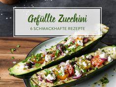 6 köstliche Rezeptideen für gefüllte Zucchini
