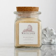 White Lion honey pearls