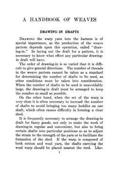 Weaving Library net: A handbook of weaves G. H. Oelsner