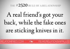 The #2520 Rule of a Relationship