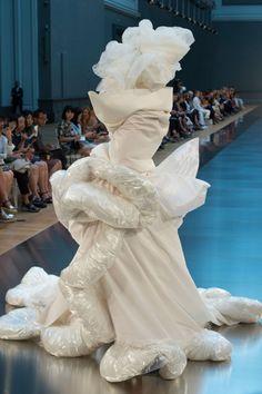 Duvet Wedding Gown @ Margiela Artisanal