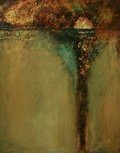 """Donna Holdsworth Art Blog: """"Hurry On Sundown"""" Abstract Painting By Donna Holdsworth"""
