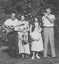 Earl Sparks, Leona Harris, Mercedes Sparks & Clyde Wiesner.