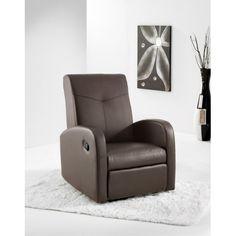 Sillón Relax de Piel Sintetica Bonn es justo lo que buscabas con extesión y elevación electrica con acolchado de los brazos confort  tapizado todo en piel sintética.