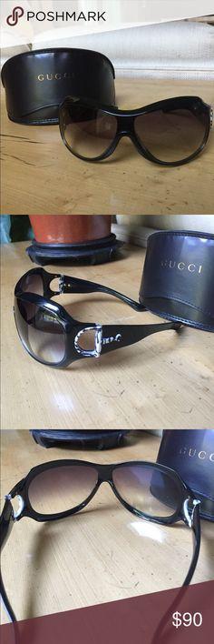 GUCCI sunglasses GUCCI sunglasses - never been worn - new with GUCCI case Gucci Accessories Sunglasses