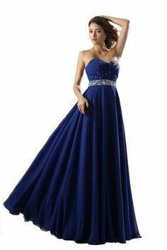 Dlass Sweetheart Long Chiffon Prom Dresses with Crystal (US2, Royal blue) Dlass,http://www.amazon.com/dp/B00GRQTSF4/ref=cm_sw_r_pi_dp_kO8Psb0ZJB7776EV