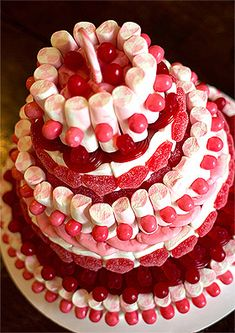 Pièce montée Wedding Cake, Wedding-cakes, gâteaux de bonbons, grâce à cette tour…