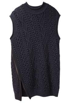 3.1 Phillip Lim / Oversized Side Zip Tunic | La Garçonne