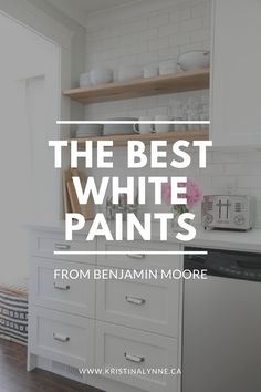 white paint, Benjamin Moore, best white paints