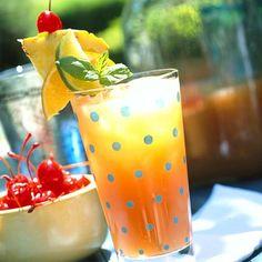 Patio Daddy-O Planter's Punch | Summer Cocktails | MyRecipes.com