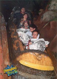 Staged Splash-Mountain photos. I will definitely be doing this next trip to Disney World.