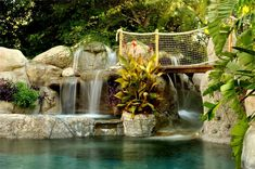 Swimming Pool Features - Landscaping Network
