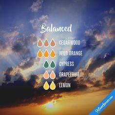 Balanced - Essential Oil Diffuser Blend