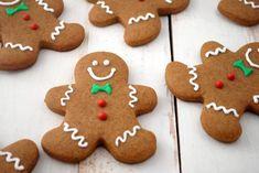 Christmas Dinner Menu, Christmas Desserts, Christmas Treats, Christmas Cookies, Christmas Parties, Christmas Holidays, Easy Gingerbread Cookie Recipe, Gingerbread Man, Easy Cookie Recipes