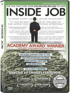 Inside Job film poster - Google Search