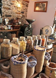 Visiting the village of Halki in the center of the Greek Island of Naxos is like traveling back in time. The shops and tavernas are much as they have been