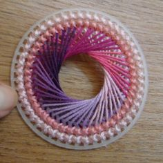 Spirograph embroidery tutorial