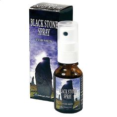 Black Stone Delay Spray 15ml 0,5 oz Premature Ejaculation Sexual Aid | eBay
