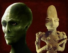 Reptilian Worship: The 7,000-Year-Old Ubaid Lizardmen Statuettes | Humans Are Free