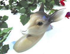 Midwinter Fawn / Deer Head Wall Plaque @ www.le-grenier.com