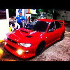 Subaru 22b STI 425hp   El Salvador! Proud of my Baby!!