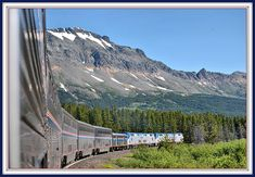 Eastbound Empire Builder ; Glacier Park MT by Loco Steve