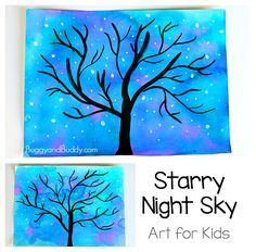 We were inspired by the dream tree in The BFG Disney movie to create this starry night sky art project. This art activity uses all kinds of fun art techniques and would be perfect for any unit related to The BFG, the night sky, and can even be transformed into a winter sky! Follow our Art for …