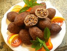 Deep Fried Kebbeh - recipe, like Badera's from Palestine... delicious!
