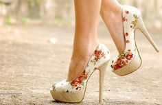 Cute summer heels