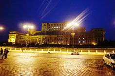 This is the second largest building in the world after the Pentagon in Washington, D. Bucharest, Pentagon, Romania, Two By Two, Washington, Louvre, Country, World, Building