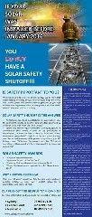 Solar Safety ShutOFF Flood Damage, Solar Panels, Safety, Sun Panels, Security Guard, Solar Power Panels