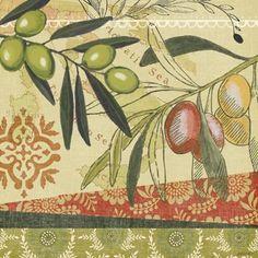Oliva Italiana-Etching by Jennifer Brinley   Ruth Levison Design