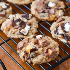 Brown Butter Chunky Milky Way Cookies_SallysBakingAddiction