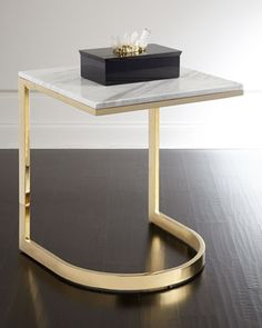 Marquis+Marble+End+Table+by+Bernhardt+at+Neiman+Marcus.