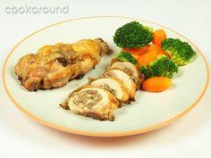 Cosce di pollo ripiene con fegato tritato: Ricette Israele | Cookaround