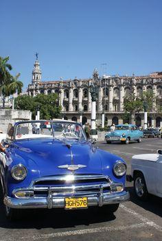 Cruisen door #Havana op #Cuba, heerlijk!
