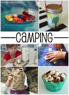 Fun camping activities to do with kids. Eco friendly fun, outdoor activities, and learning