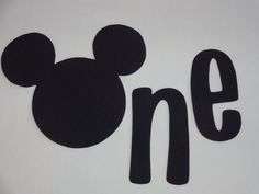 Mickey Mouse 1st/First Birthday iron on applique