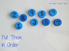Esperamos quetengáisya vuestros tapones de plástico, si hace unos días os mostraba cómo los utilizan en otros campos del aprendizaje, hoy os vamos a mostrar 5 ideas para utilizarlos para hacer matemáticas con ellos. 1. Ordenar del 1 al 10 Se le dan al niño...