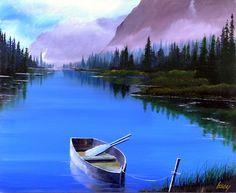 雄大なアラスカの大自然。サイズ・・・F20・727×606ミリ|ハンドメイド、手作り、手仕事品の通販・販売・購入ならCreema。