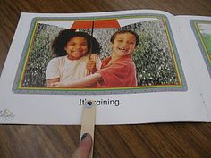 Googley Eye popsicle sticks to keep emerging readers on top of their one-to-one correspondence.