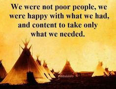Some people are so poor, all they have is money ...