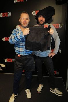 Want to get your hands on a pair of Stubbies? See The Morning Rumble boys @therockfm here: http://on.fb.me/1vMwgDx
