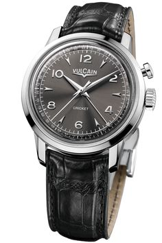 50s Presidents Watch 39 mm Heritage Steel with charcoal gray watch dial