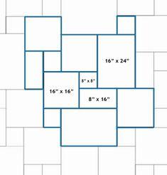 slate tile versailles pattern - Google Search