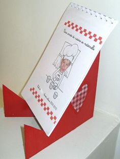 Un projet autour des recettes pour les anniversaires Toutes les recettes illustrées et un cadeau pour la fête des mères ou autre!!!