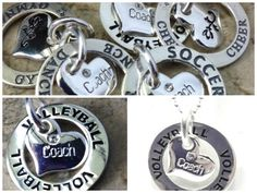 Coach Gifts Coach Charms Affirmation Band by JSueSelling on Etsy  $16.50 with chain