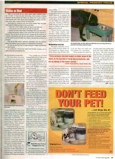 Pet Product News features High Maintenance Bitch®'s 'Shattered Dreams' stained glass mosaic luxury drinking dish, used by Oprah's dogs, Sophie and Solomon at the Four Seasons in Seattle during her 'Live Your Best Life' Tour.