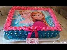 Frozen (Elsa-Anna) film cake special creative ideas- كيك فروزن السا و انّا Frozen Sheet Cake, Anna Frozen Cake, Anna Cake, Disney Frozen Cake, Disney Frozen Birthday, Bolo Frozen, Frozen Birthday Outfit, Elsa Birthday Cake, Birthday Sheet Cakes